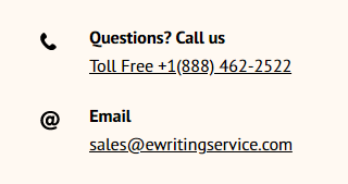 EWritingService.com Support