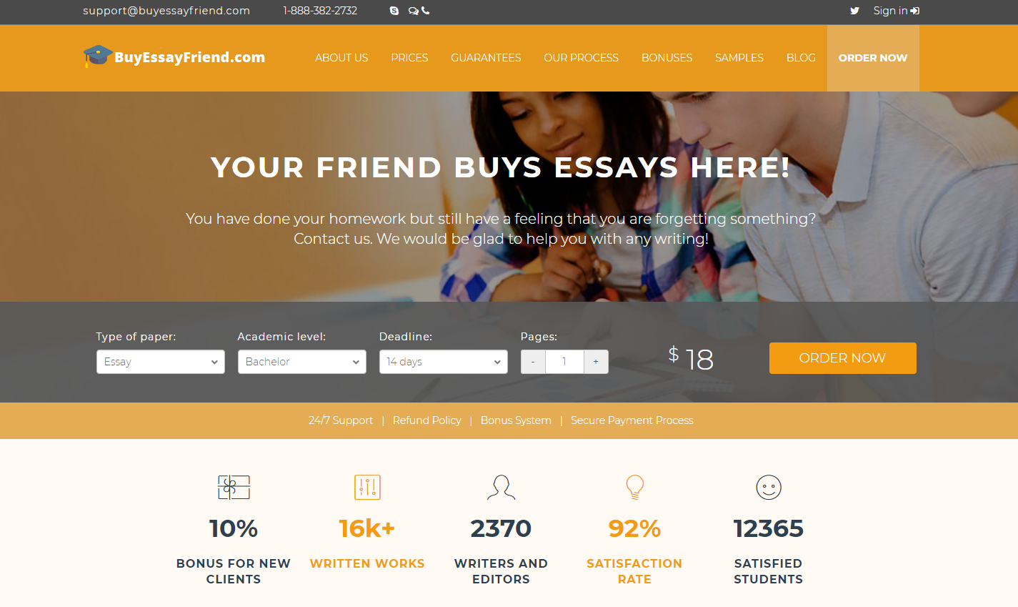 Top rated essay writing websites
