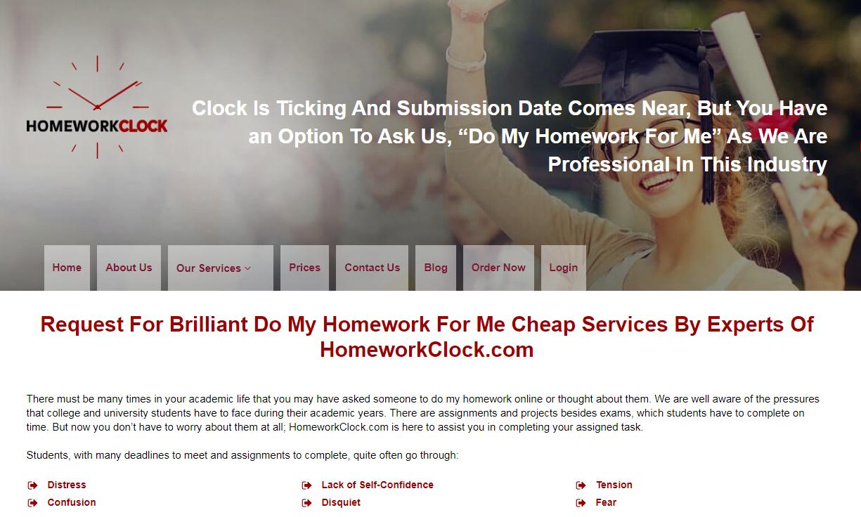 HomeworkClock.com